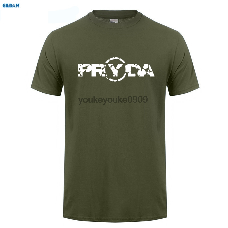 GILDAN Pryda - Black T-Shirt Eric Prydz EDM EDC Vegas Rave Plur DJ All Short Sleeve Discount T Shirts