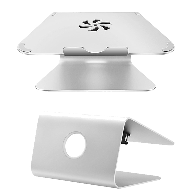 Silver Metal Notebook Laptops Stand Desktop Holder For MacBook Air For Macbook Pro New Laptop Holder Cooling pad For Notebook