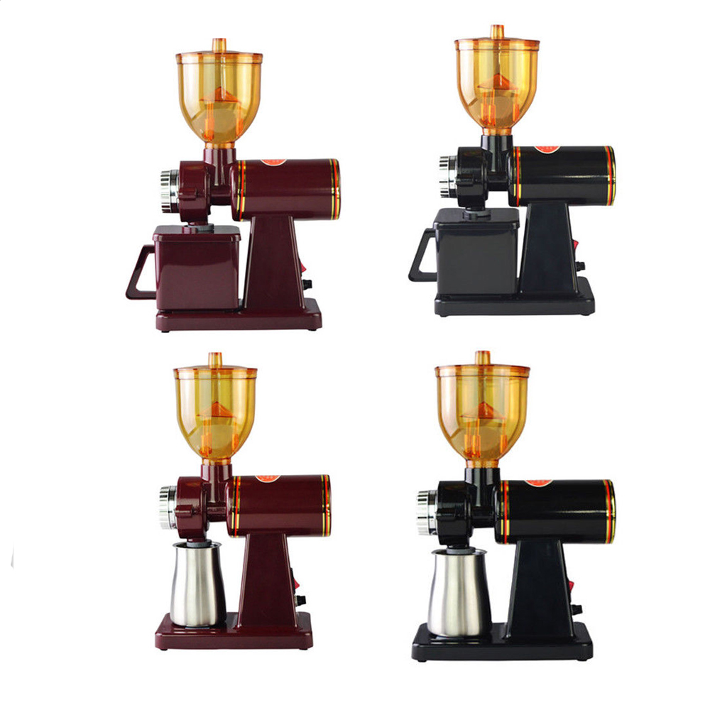 220V Household Electric High Speed Coffee Bean Grinder Grinding Mill Machine Coffee Bean Grinder Coarse/Fine Grinding Machine dl 92k coffee grinder mill electric crusher multifunction household electric coffee grinder grinding machine pepper mill delta