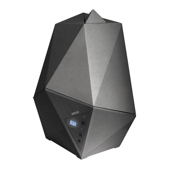 Увлажнитель воздуха MYSTERY MAH-2604 graphite (Мощность 25 Вт, емкость для воды 4 л, макс.интенсивность 300 мл/час, регулировка интенсивности, таймер)
