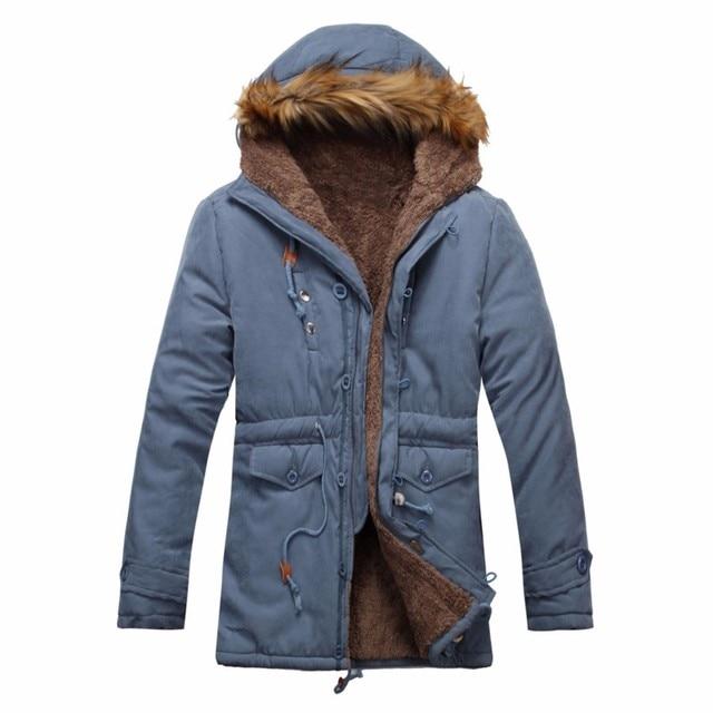 Aliexpress.com : Buy Winter Warm Mens Thick Fleece Jackets Faux ...