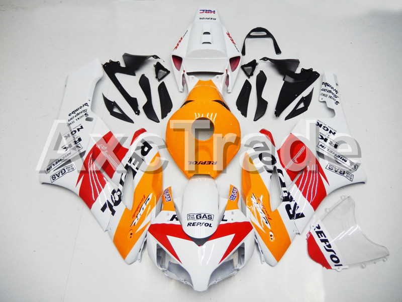 Motorcycle Fairings For Honda CBR1000RR CBR1000 CBR 1000 RR 2004 2005 ABS Plastic Injection Fairing Bodywork Kit White Repsol Co injection mold fairing for honda cbr1000rr cbr 1000 rr 2006 2007 cbr 1000rr 06 07 motorcycle fairings kit bodywork black paint