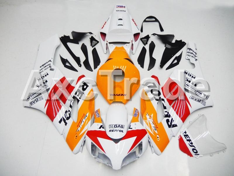 Motorcycle Fairings For Honda CBR1000RR CBR1000 CBR 1000 RR 2004 2005 ABS Plastic Injection Fairing Bodywork Kit White Repsol Co