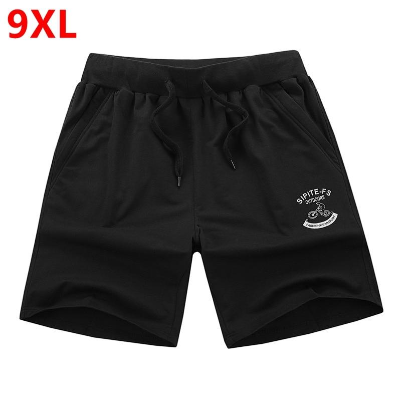 100% Quality Plus Size Shorts Men's Big Size Shorts Summer Casual Loose Large Size Shorts Big Guy 9xl 8xl 7xl 6xl 5xl 4xl 3xl 2xl In Many Styles