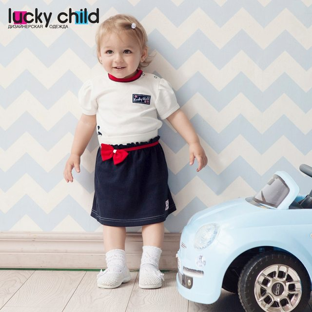 Юбка Lucky Child арт. 18-35 (Романтика) [сделано в России, доставка от 2-х дней]