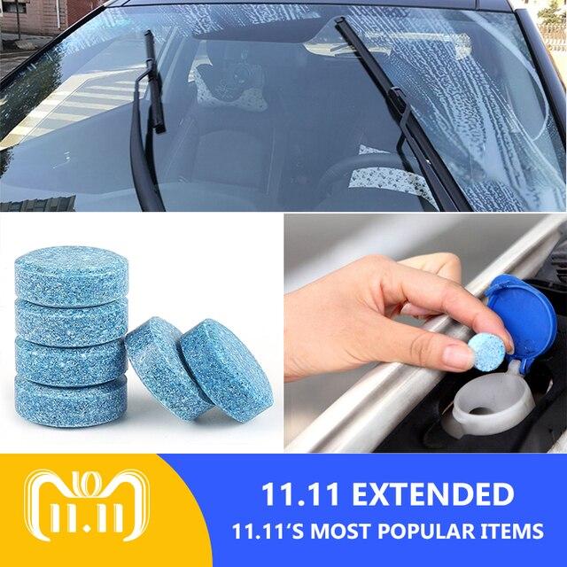 5 pcs = 20L Brisa Do Carro Limpador Lavador de Vidro Compacto accessaries carro Detergente Comprimidos Efervescentes