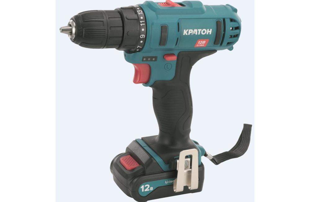 Drill-screwdriver rechargeable KRATON CDB-12-Li-1,5 drill screwdriver rechargeable kraton cdl 10 1 h