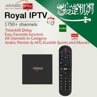 Gotit Sofobod+Arabic IPTV Royal IPTV with Kurdish Persian 1750Live Amlogic S905W 1G/8G WiFi 4K Best Android Smart TV Box
