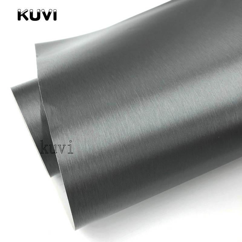 Brushed Aluminium Vinyl wrap BLUE 30cm x152cm