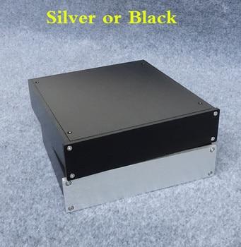 BZ2205C All Aluminum Chassis Amplifier Audio Housing Power Amp Case DIY Box Pre-Amp Enclosure цена 2017
