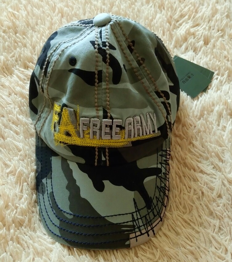 Military casual army cap water wash military hat Men hip hop large camouflage hat lovers hat personalized free shipping