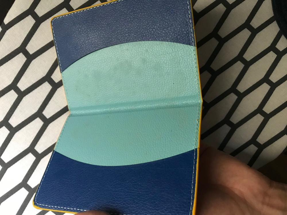 Aelicy 2019 New design Unisex Passport Holder Protector Wallet Business Card Soft Cartoon Passport Cover Dropshipping Wholesale photo review