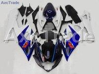 Мотоцикл Обтекатели для Suzuki GSXR GSX R 1000 GSXR1000 GSX R1000 2005 2006 K5 ABS Пластик инъекции обтекателя Кузов комплект a307