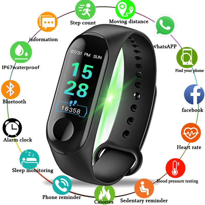 Wearpai Women Smart Watch Men Heart Rate Blood Pressure Oxygen Sleep Monitor Pedometer Fitness Sport Watches For Men Android Ios For Improving Blood Circulation Watches Digital Watches