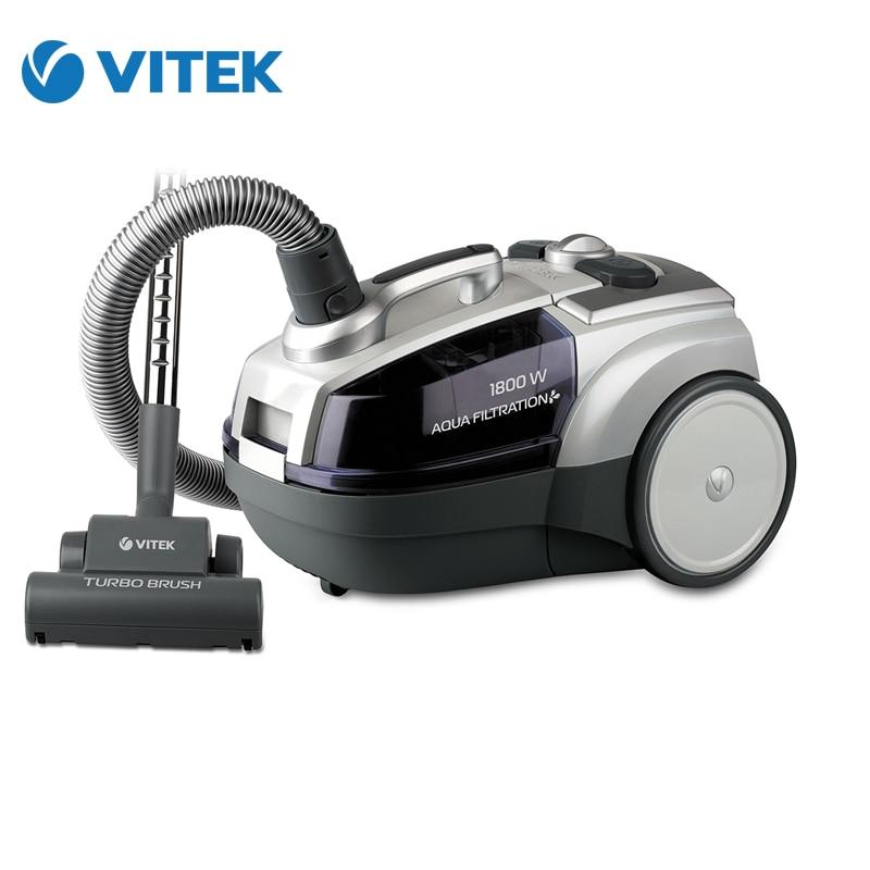 The electric vacuum cleaner Vitek VT-1833 PR пылесос с водяным фильтром vitek vt 1833 pr