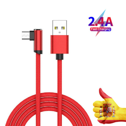 2A USB Type-c Cable Chargeur To Huawei Matte 20 20X20 Lite P20 P30 Pro Red Or Blue Shipping From Spain