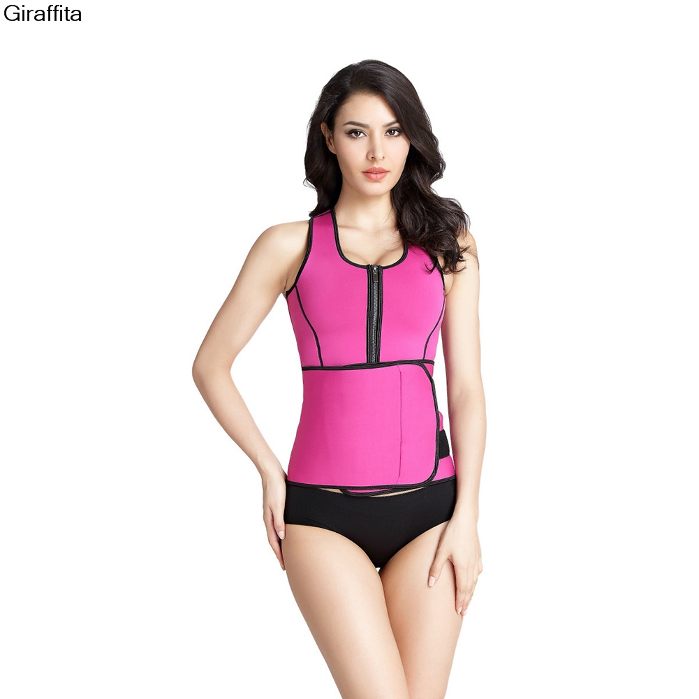 Hot Shapers Clothes Body Slimming Waist Cinchers Belt Burn Fat Corselet And Bustiers Buckle Design Underwear 5