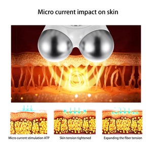 Image 5 - Mini microcurrent face lift machine Skin Tightening Rejuvenation Spa USB Charging facial wrinkle remover device Beauty Massager