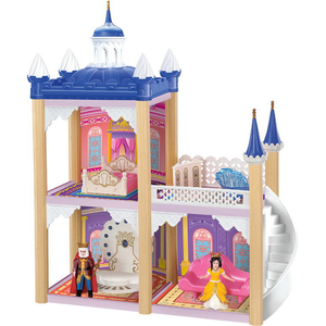 Image 2 - Barbie Doll DIY Dream House Accessories Children Castle Villa Educational Toy Boy Girl Birthday Christmas New Year Gift