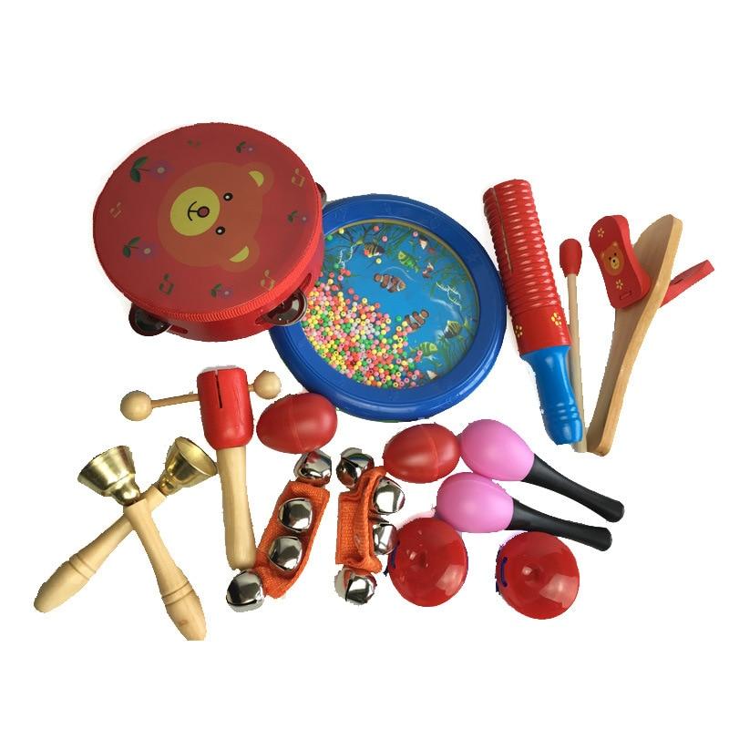 Orff Children Percussion Instruments plastic 23pcs/Set ...