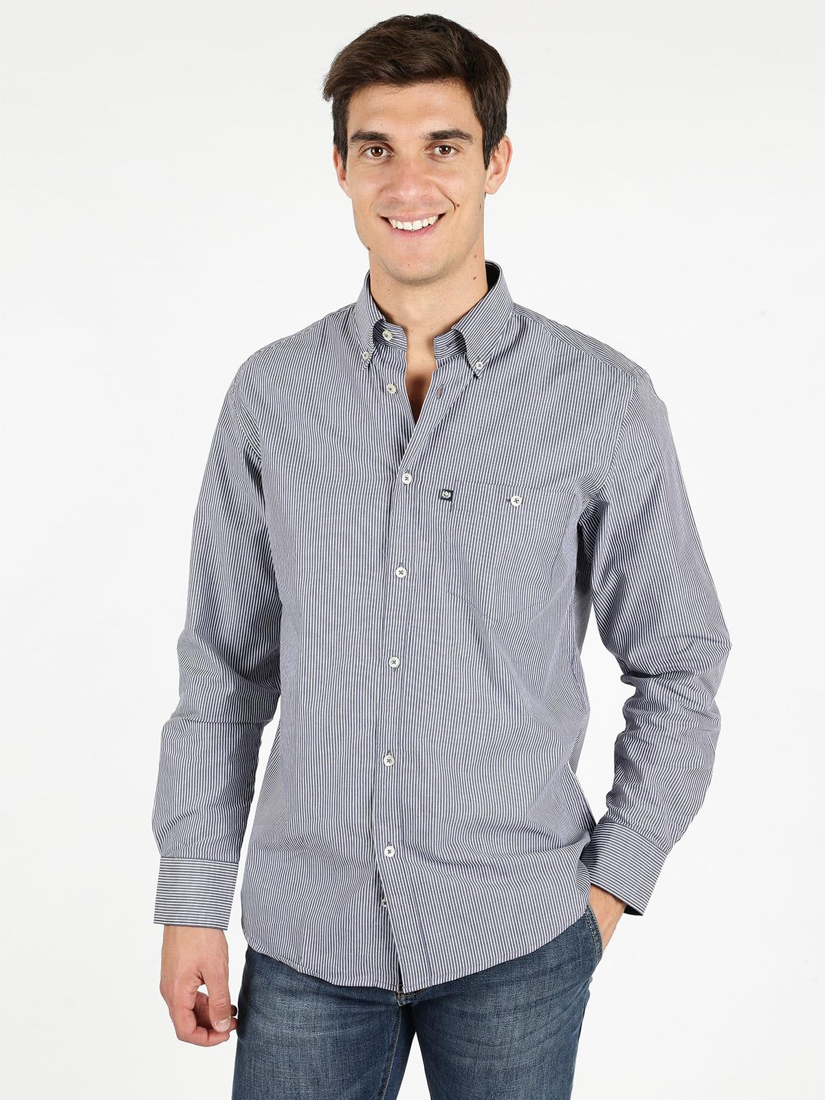 Striped Shirt Cotton