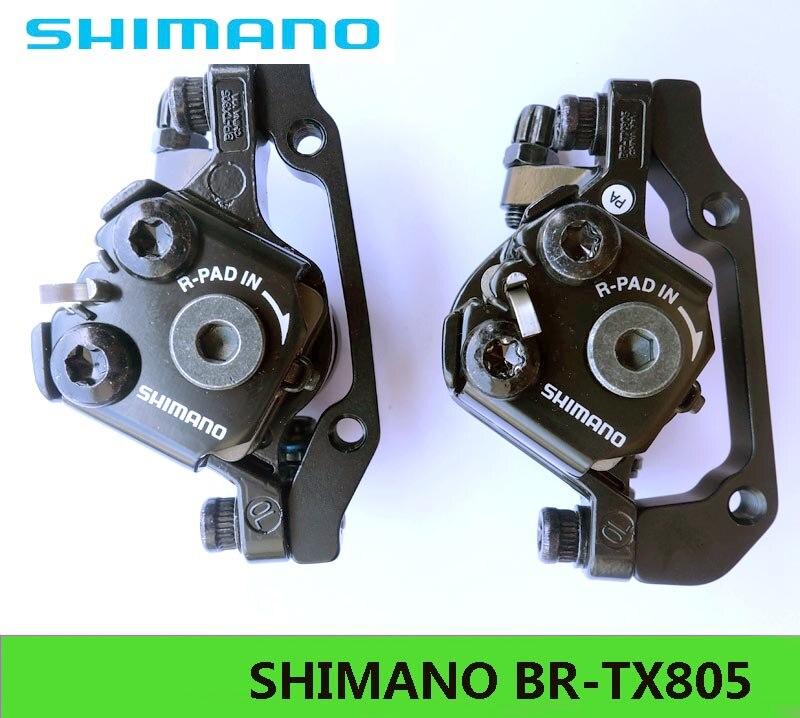 SHIMANO BR-TX805 VTT étriers de frein à disque mécaniques pièces de vélo freins 1 pour la dernière livraison gratuite