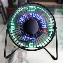 USB led cooling Fan 6 inch Iron art top quality Desk USB Min
