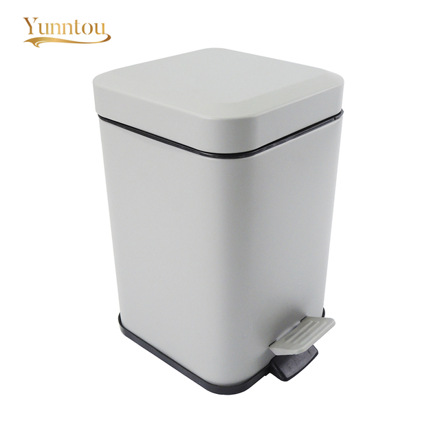 Small Trash Can Office Bedroom Bathroom Home 3l Waste Bin Paper