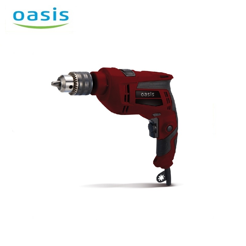 Electric drill Oasis DE-60 Multi Purpose Corded Electric Power High Power Double Quick clamping patron Drilling holes electric hammer drill oasis pr 100 hole punching rotary tool drilling holes multifunctional hammer dual purpose