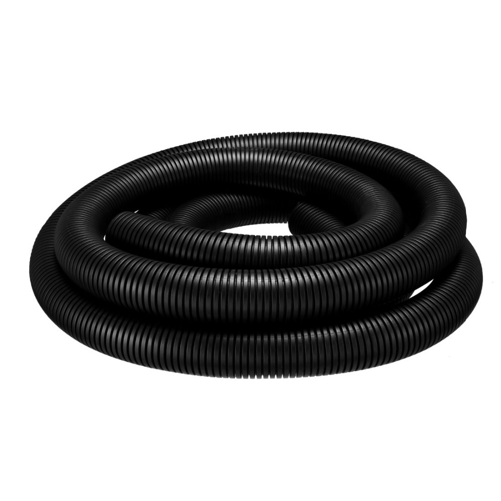 Uxcell 6M Length 42.5mm Outside Dia Flexible Insulated Corrugated Bellow Conduit Tube 36mm Inner Dia for Electric Wiring BlackUxcell 6M Length 42.5mm Outside Dia Flexible Insulated Corrugated Bellow Conduit Tube 36mm Inner Dia for Electric Wiring Black