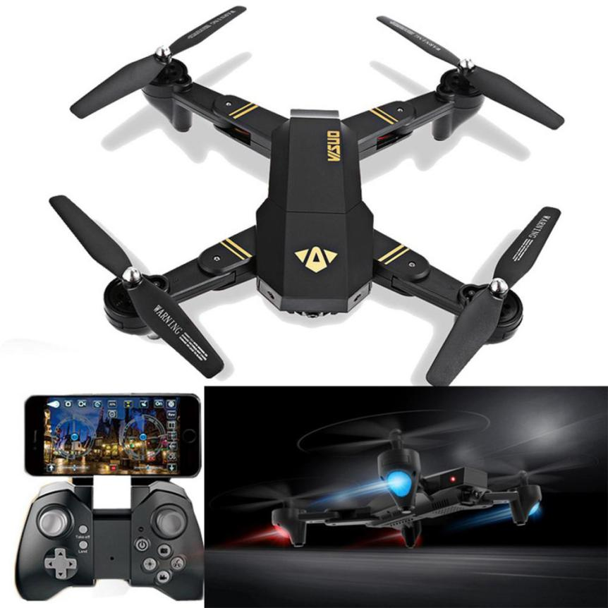 VISUO XS809HW RC Quadcopter Wifi FPV Foldable Selfie Drone 2MP 3 Battery  IUNEED TOY Store f04305 sim900 gprs gsm development board kit quad band module for diy rc quadcopter drone fpv