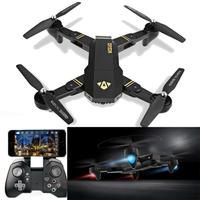 VISUO XS809HW RC Quadcopter Wifi FPV Foldable Selfie Drone 2MP 3 Battery IUNEED TOY Store