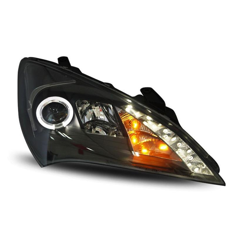 Rear Headlights Accessory Side Turn Signal Lamp Daytime Running Assessoires Drl Parts Car Led Lights For Hyundai Rohens Coupe