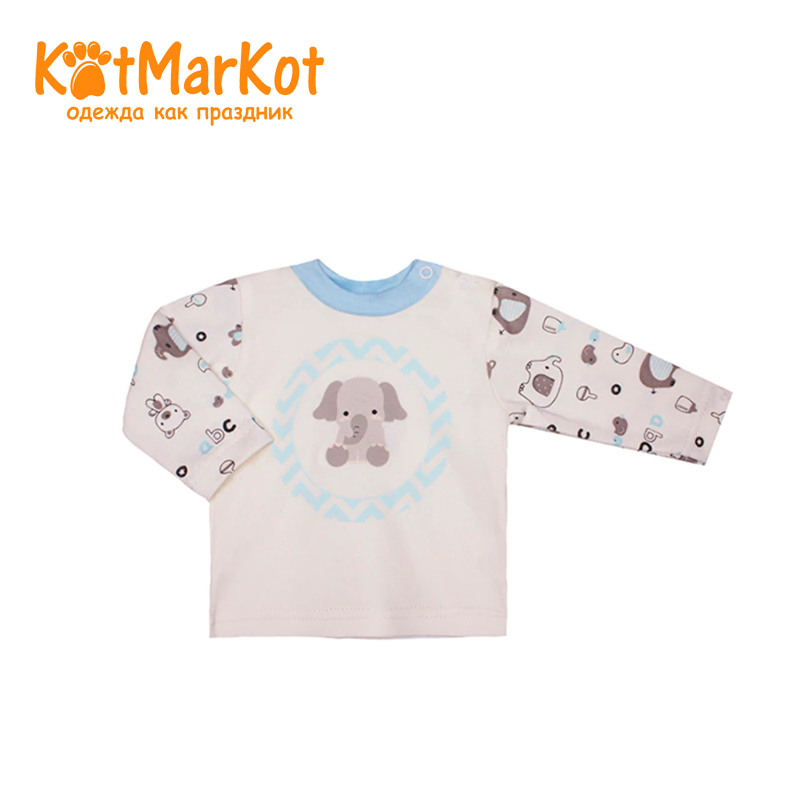 Фото - Bodysuit Kotmarkot 9301  children clothing for baby boys kid clothes jeans sweet berrytextile trousers for boys children clothing kid clothes