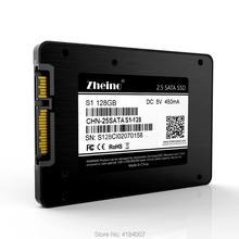 Zheino 2,5 дюймов SATA3 128 ГБ SSD жесткий Дирв высокая скорость 2D MLC NAND Flash не TLC 7 мм S1-128GB внутренний твердотельный диск