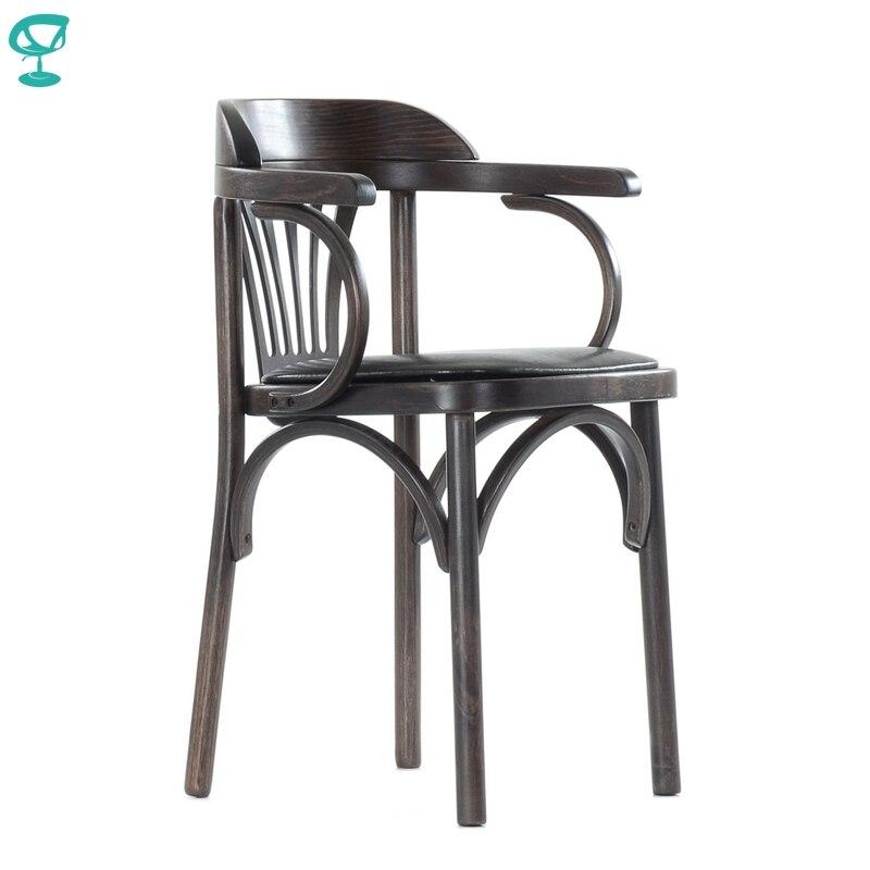 2122 Barneo Viennese chaise en bois siège souple dîner chaise tabouret intérieur chaise meubles de cuisine Wenge livraison gratuite en russie