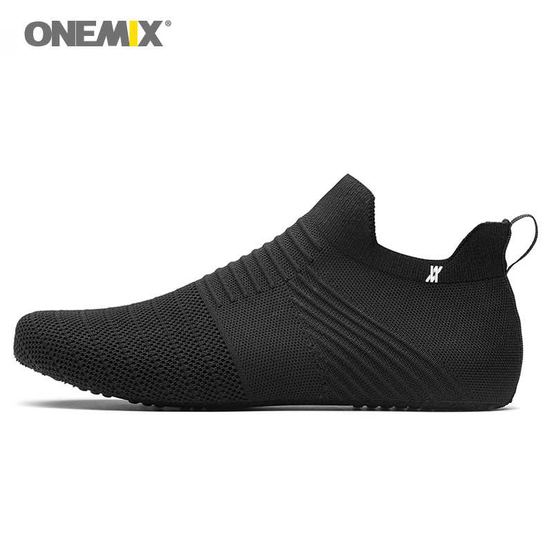 ONEMIX men รองเท้าผู้หญิงรองเท้า slip - on innner รองเท้าแตะผ้าไหมยืดหยุ่นไม่มีกาวเป็นมิตรกับสิ่งแวดล้อม cool man ในร่มทำงาน