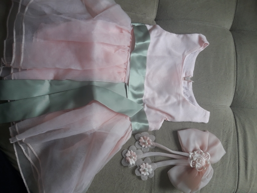 Baby Girl's Party Dresses With Big Bow-Knots photo review