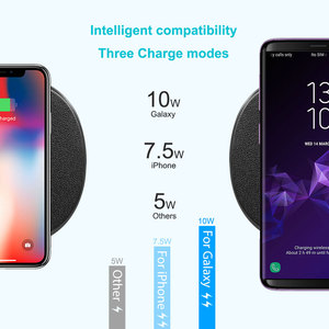 Image 4 - NILLKIN 2 в 1 Qi быстро Беспроводной Зарядное устройство для iPhone X XS Max/XS/8/8 Plus для samsung Galaxy S8/Note 8/S9 Беспроводной зарядного устройства