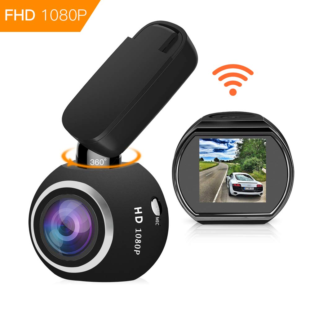 Ecartion Mini Car DVR Wifi GPS Logger Car Camera Full HD 1080P Video Recorder Camcorder Night Vision Dash Cam Auto Black Box