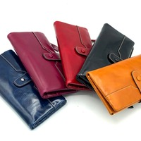 Female gift Stylish wallet Card package cute cash wallet new style Money Clips Genuine Leather Women trend wallet
