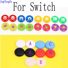 1pcs Silicone Analog Thumb Stick Grips Caps for Nintend Switch NS JoyCon Controller Sticks Cap Skin for Joy Con Cover(China)