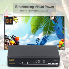 Freesat Full HD 1080P V8 Super DVB-S2 Satellite TV Receiver Support IPTV PowerVu Bisskey newcamd scart