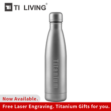 Titanium Thermos Vacuum Water Bottle Flask Kettle Coffee Cup Outdoor Drink ware 500 ml Fashion Portable Coke Insulation Travel