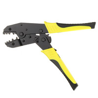 Crimping Pliers 4mm2 Wire Crimpers Engineering Ratchet Terminal Crimper Ratchet Plier Tool Insulated Electrician Cable Cutter