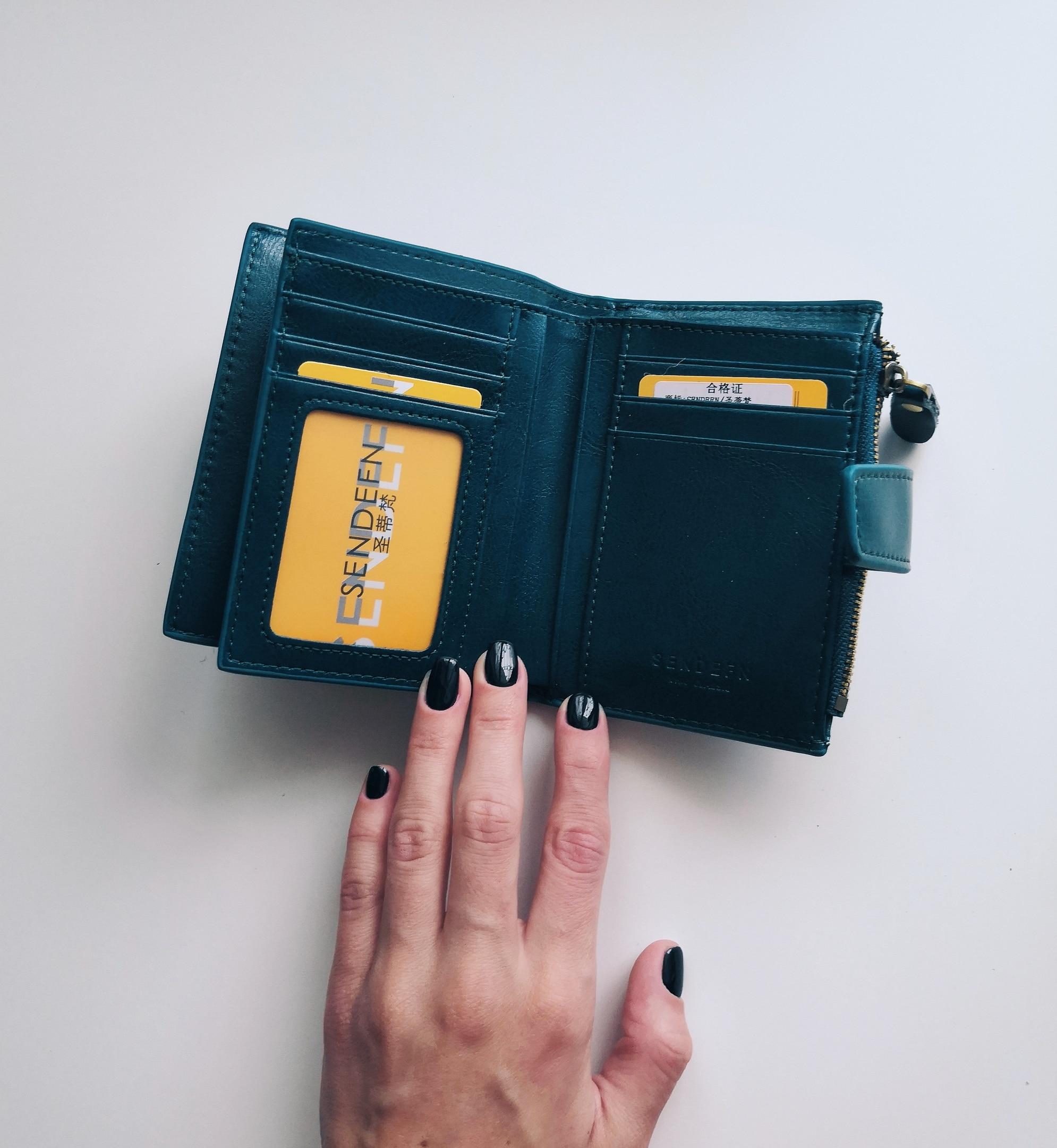 портмоне для женщин; бумажник женщина; бренд класса люкс ; Подкладка Материал:: Полиэстер;