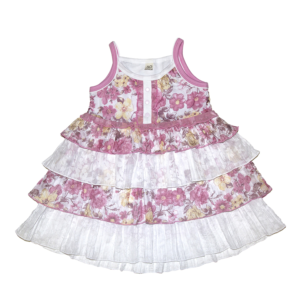 Dresses Lucky Child for girls 50-64 (18M) Dress Kids Sundress Baby clothing Children clothes summer dresses for girls cotton children clothing denim baby clothes floral sleeveless kids clothes girls princess dress 2 12t