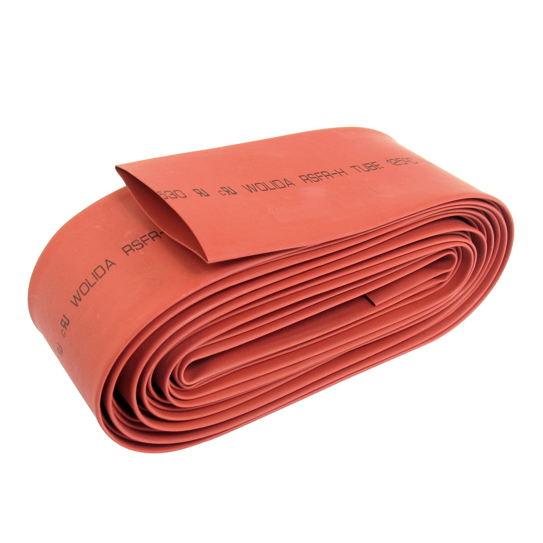 Uxcell Od 35Mm Dia Heat Shrink Tubing Electric Wire Cable Wrap Sleeve Red .0.9m1m2m3m5.4m5m
