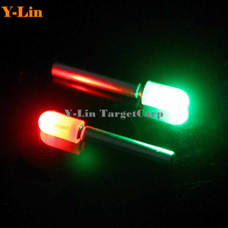 Clip On Float Glow Stick Night Fishing Green Fluorescent Light Led