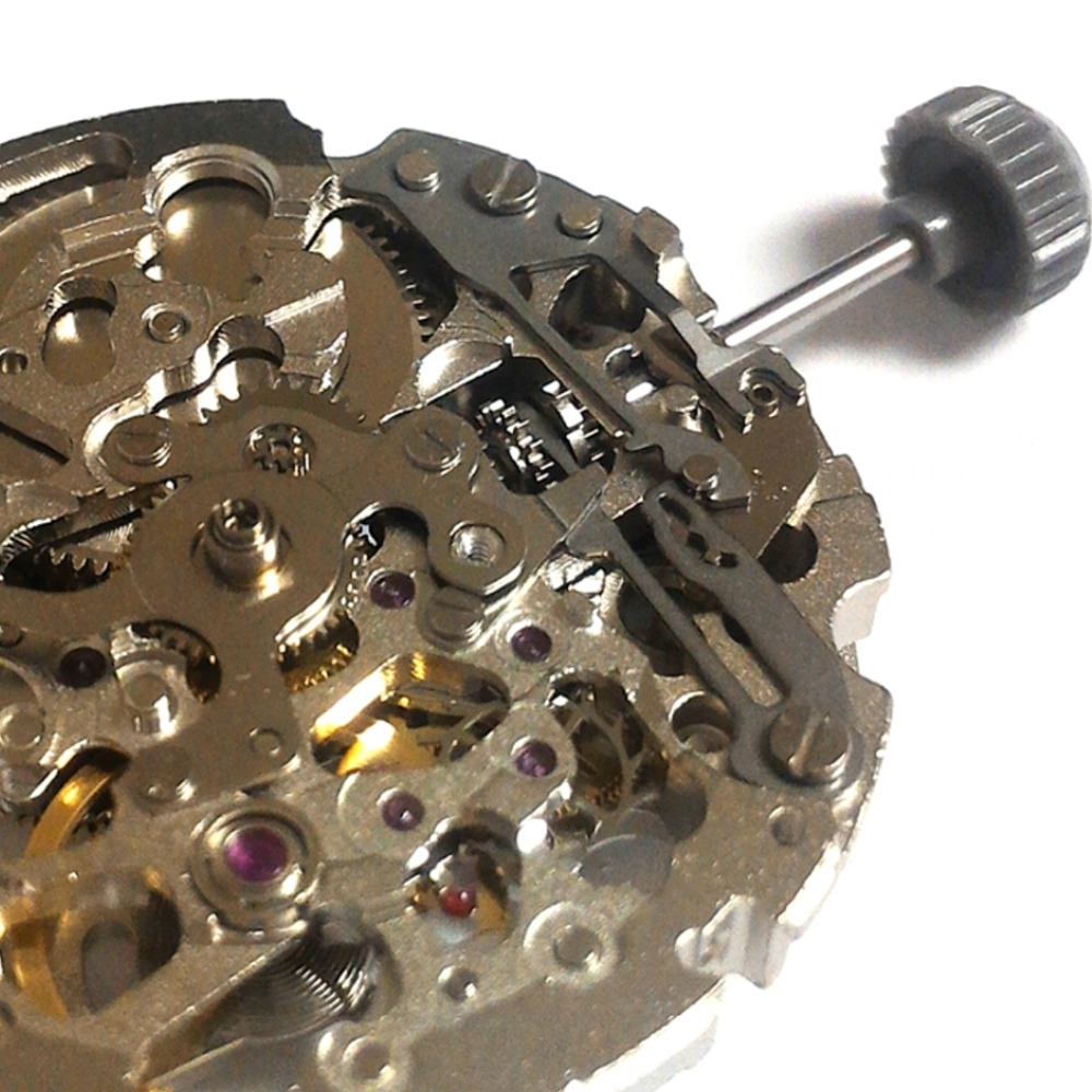 8N24 Automatic Mechanical Skeleton Movement 21 Jewels Japan Made Miyota 8N24 8N24 Automatic Mechanical Skeleton Movement 21 Jewels Japan Made Miyota 8N24
